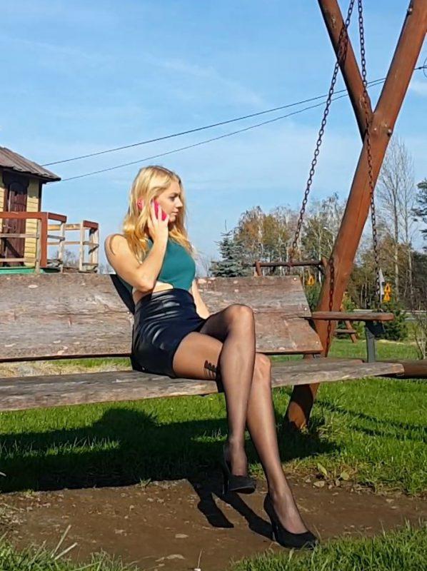 black pantyhose movie - sunny scenery