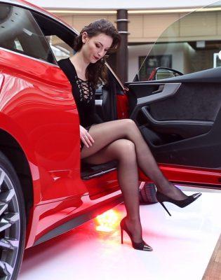 pantyhose legs , super high heels video - super legs