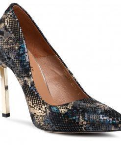 snake high heels